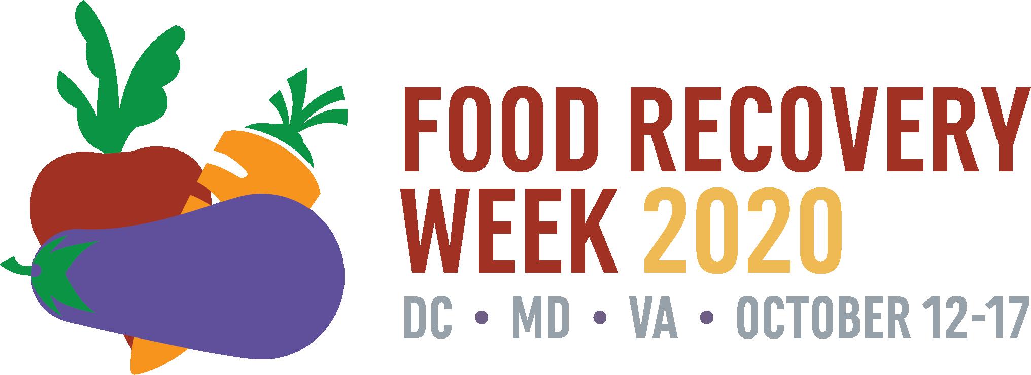 DMV Food Rescue Week 2020 banner